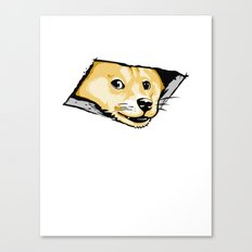 Ceiling Doge Canvas Print