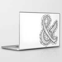 ampersand Laptop & iPad Skins featuring Ampersand by Laura Maxwell