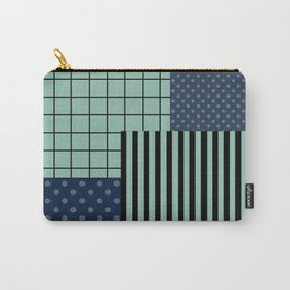 Patchwork retro 2 Carry-All Pouch