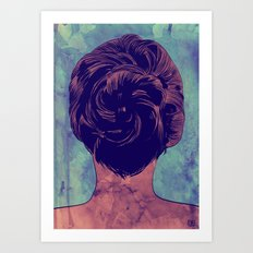 Hair nr. 9 Art Print