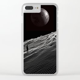 Be here now Clear iPhone Case