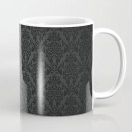 Luxury Black Damask Coffee Mug