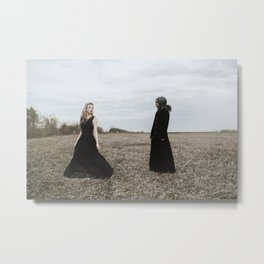 Can't escape from future Metal Print