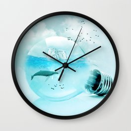 Below the Surface Wall Clock