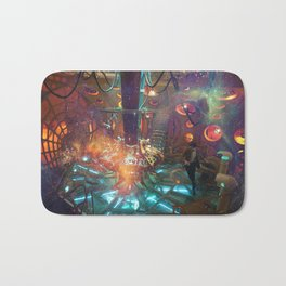 doctor who 009 Bath Mat