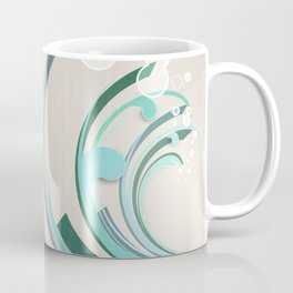 Wave Abstract Coffee Mug