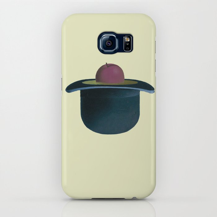6b007aff8b0 A single plum floating in perfume served in a man s hat. iPhone Case by  tsposato