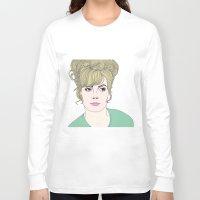 fashion illustration Long Sleeve T-shirts featuring Fashion illustration by Selma Roberts