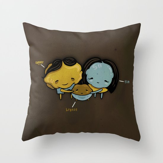 They Totally Smelted Throw Pillow