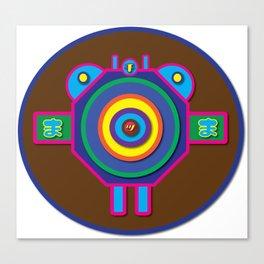 Fly   Minimoshi Series Canvas Print