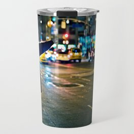 Can you see me / NYC / Taxi Travel Mug