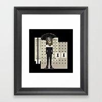 Ga Ga Gladiator Framed Art Print