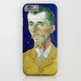 Vincent van Gogh - Eugene Boch - Digital Remastered Edition iPhone Case