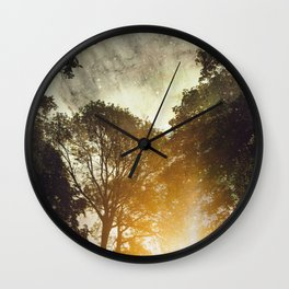 Space took place Wall Clock