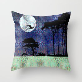 Yeats fits my mood today. Sad , sad day for the U.K Throw Pillow