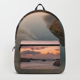 The rock that smiles Backpack