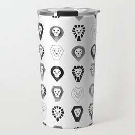 animal PICTOGRAMS vol. 1 - LIONS Travel Mug