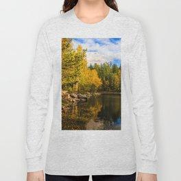 Autumn, Hidden Lake Long Sleeve T-shirt