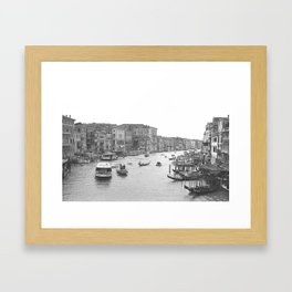 Venice on Film Framed Art Print
