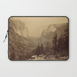 Yosemite Valley from Inspiration Point Laptop Sleeve