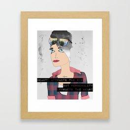 Rachel Framed Art Print