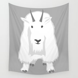 Mountain Goat Wall Tapestry