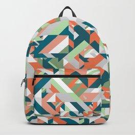 Summer Geometric Backpack