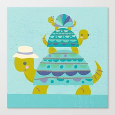 turtle tower Canvas Print
