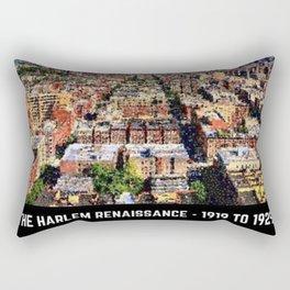 Harlem Renaissance Cityscape Art Motif by Jeanpaul Ferro Rectangular Pillow