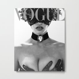 Fashion Photography VOGUE Paris Fashion Print More Issues Than Vogue Fashionista Fashion Wall Art Metal Print