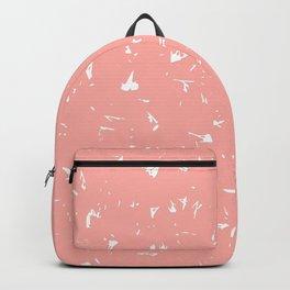 Apricot Blush Splatter Spots Backpack