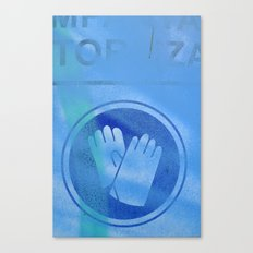 Use gloves Canvas Print