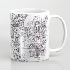 wonderland shattered Mug