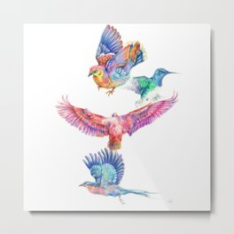 birds in color Metal Print