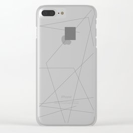 Go Astray. Go Home Clear iPhone Case