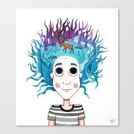 Imaginando un Bosque I Canvas Print