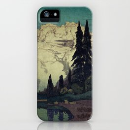The Pending Storm at Hike iPhone Case