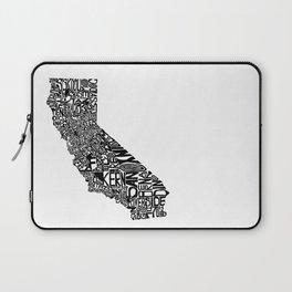 Typographic California Laptop Sleeve