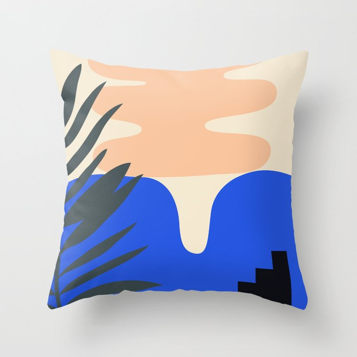 Shape study #14 - Stackable Collection Throw Pillow