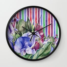 Lathyrus 2 Wall Clock