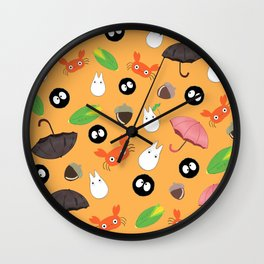 Let's meet the forest god Wall Clock