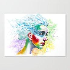 Portrait One Canvas Print