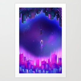 Into The Spider-Verse Art Print