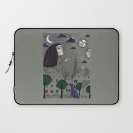 Above the Rooftops Laptop Sleeve