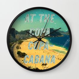 At the Copa Copacabana #1 – A Hell Songbook Edition Wall Clock