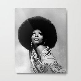 Diana Ross - Black Culture - Black History Metal Print
