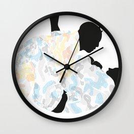 Delicate Judoka 04 Wall Clock