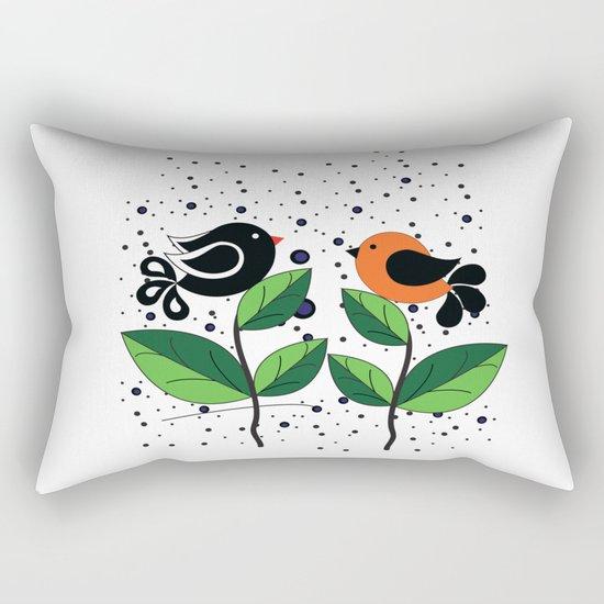 cute bird Rectangular Pillow