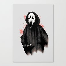 Ghost Face Canvas Print
