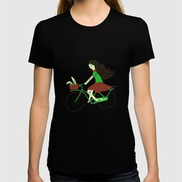 Biker Bunny T-shirt
